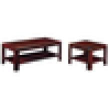 Mesa de café de madeira mesa de chá mesa de café industrial