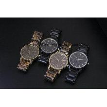 2017 Luxury Customized Wood Watch Wristwatch Custom Logo