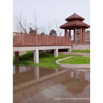 Hot Sale New Waterproof WPC Outdoor Fence (for bridge, garden with 20 Years Warranty,)