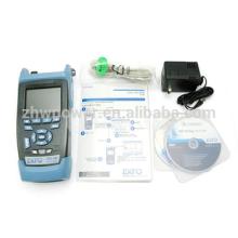 Source de lumière de l'indicateur de puissance optique, compteur d'énergie optique à fibre optique, EXFO AXS-100 SM Handheld OTDR prix 1310 / 1550nm, 29 / 28dB