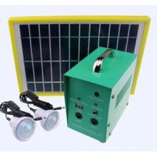 Sistema de iluminación solar portátil para el hogar hecho en China