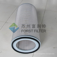FORST alta qualidade plissada filtro de gás natural filtro de cartucho