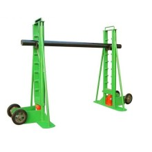 Support de dévidoir de câble hydraulique de type ordinaire