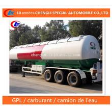 30t LPG Semi Trailer 60cbm LPG Transport Trailer for Nigeria
