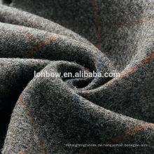 China reiner Wolle gewebt Tweed Stoff für Winterbekleidung