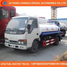 2016 China New Condition 4X2 Caminhão Bowser de Água para Venda