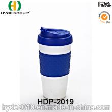 Safe BPA Free Plastic Travel Mug with Snap Lid (HDP-2019)