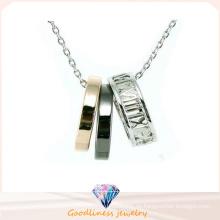Neuer Entwurf für Frau Halskette 925 silberne Schmucksachen (N6661)
