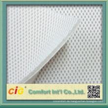 Warp-Knitted Sandwich Mesh Stoff für Bekleidung / Schuhe / Auto