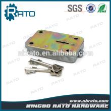Blade Lockplate Bloqueio seguro da caixa segura Iron Lock Lock