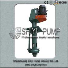 Pompe de puisard verticale résistante à l'usure résistante pour le traitement de minerai
