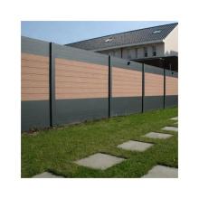 Durable & Anti-UV WPC Fence Garden Wood Plastic Composite Fence Panels
