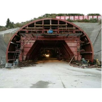 Machine professionnelle de revêtement de tunnel de construction d'autoroute