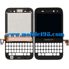 LCD Display and Touch Screen with Frame for Blackberry Q5