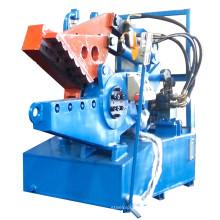 Máquina de corte e corte de jacaré para tubos de aço de alumínio
