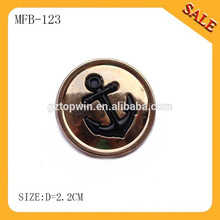 MFB123 Hot sale high-end quality press spring metal snap button for clothing