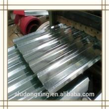 1100 H24 hoja de aluminio corrugado para el techo y muro cortina