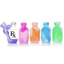 Прочный разноцветный силиконовый чехол для бутылки на заказ