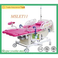 MSLET11M Coin confortable Lit d'hôpital en obstétrique électrique Table d'opération électrique