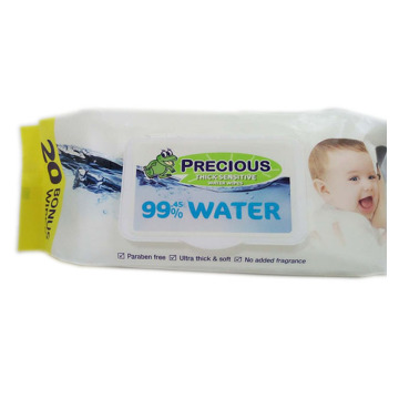 99% Wasser Baby Oorganic Cleaning Wet Tissues