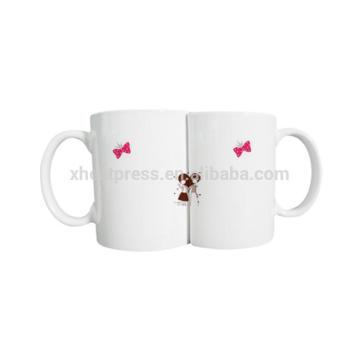 Hot Sale Sublimation Couple Mug/Lovers Mug/Magic Mug
