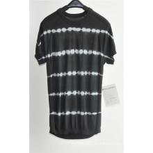 2016new moda 100% algodón corto manga hombres suéter