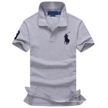 OEM Stickerei Logo Großhandel Polo T-Shirt für Männer Professionelle Hersteller