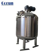 Tanque de armazenamento de aço inoxidável para alimentos / bebidas.
