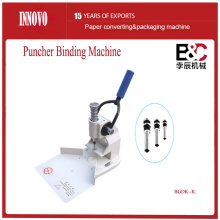 Innovo poinçonnage et Binding Machine (forme de triangle)