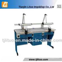 Dentallabor-Ausrüstungen, Zahntechniker-Arbeits-Tabelle