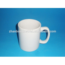 Hot Sale Straight Body Ceramic Round Decal Coffee Mug