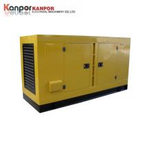 China Brand Engine 100kVA 120kVA Water Cooled Open Silent Type Diesel Generator OEM Factory