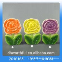 Colorido, flor, desenho, cerâmico, ar, umidificador, quarto