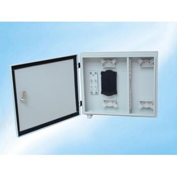 Caja de distribución ODF de montaje en rack 24 Panel de conexión de fibra óptica principal