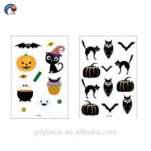 Encantador personalizar tatuaje temporal de Halloween