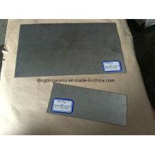 Plaque en alliage de molybdène poli Tzm