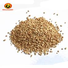 Corn cob abrasive granules for polishing