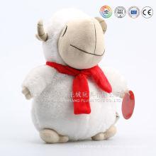 Ovelha redonda de pelúcia, ovelha tai gorda de pelúcia