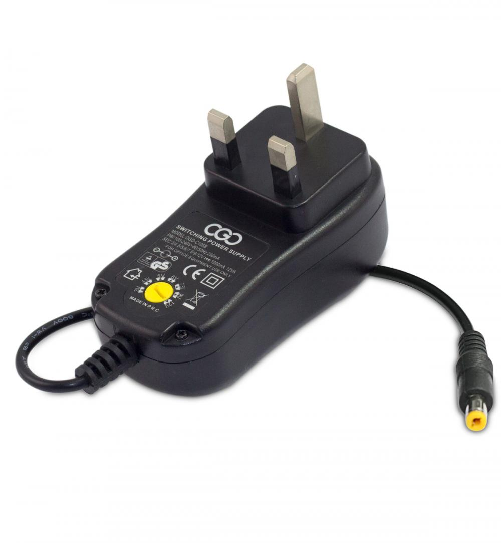 24W Manual Adjustable Voltage AC/DC Adapter
