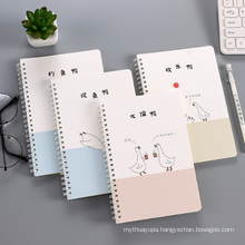 Colorful Note Book Manufacturers 2021 New Design Custom Logo Page Diary Blank Paper Journal Student Exercise Book