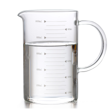 High Borosilicate Food Grade Glass Measuring Cup (500ml)