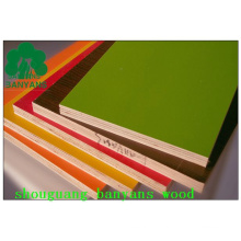 Melamin konfrontiert Sperrholz Melaminpapier überlagert Sperrholz