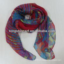 2014 paisley long scarf chiffon