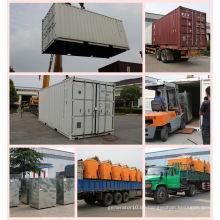 800kw 1000 kVA Silent Typ Diesel Generator mit 20FT 40FT Behälter Baldachin Schallschutz Generator
