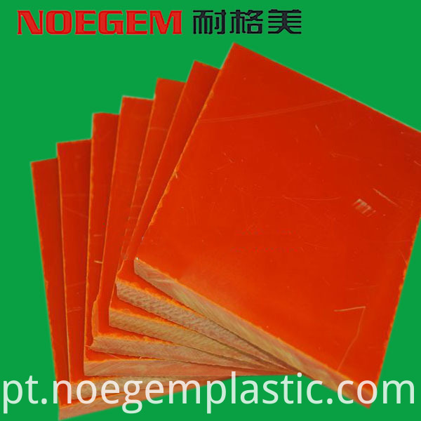 Orange Bakelite Sheet
