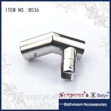 135 suspension clamp for frameless glass railing