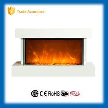 Pully desktop estilo lareira elétrica grande sala de aquecedor