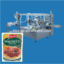 pre made stand-up doypack pouch rotary packing machine