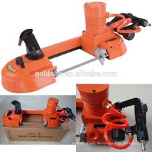 Pneumatische tragbare Mini Handheld Geschwindigkeit Variable Metall / Holz / Stahl Schneidband Sägemaschine