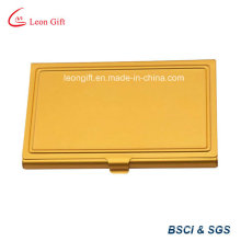 Рекламные Золотой цвет управление бизнес имя карты Box пользовательские